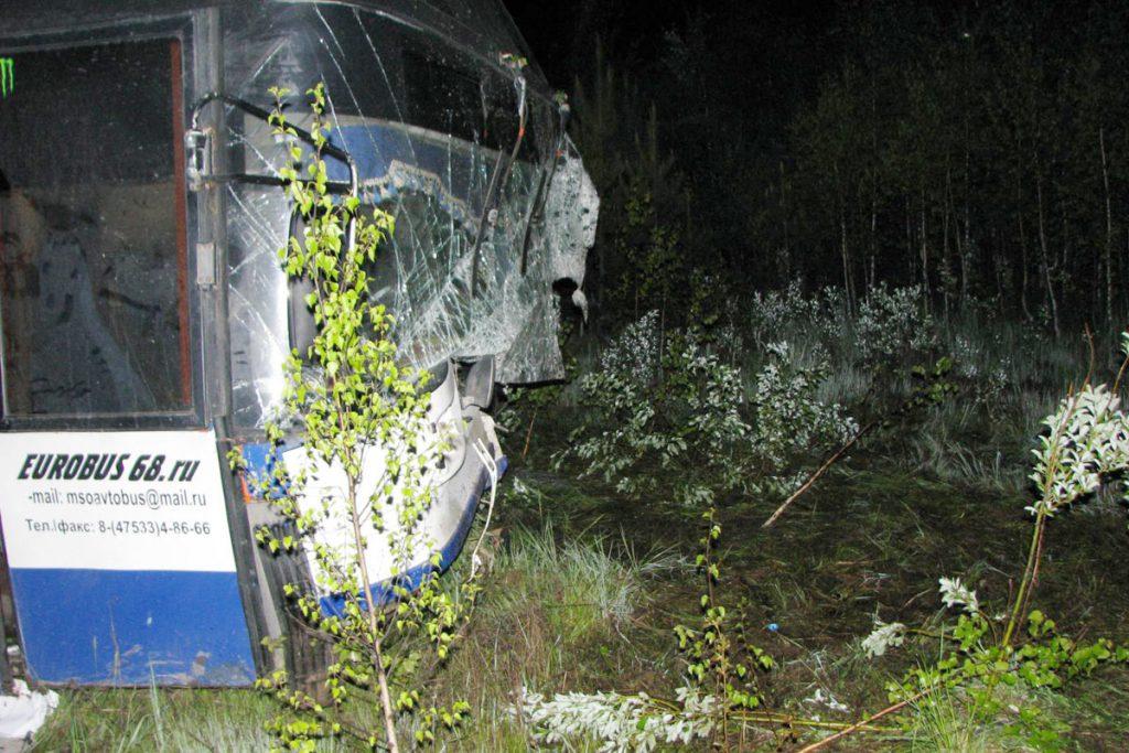 Авария произошла 2 июня в 10 часов вечера на 76-м километре автодороги Аромашево – Вагай в Вагайском районе