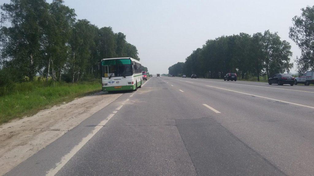В ДТП с участием пригородного тюменского автобуса пострадали двое детей