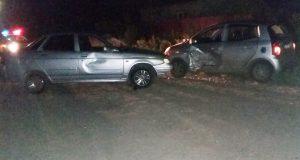 В половине десятого часа вечера в деревне Друганова Тюменского района столкнулись «Лада» 10-й модели и «Киа Пиканто»