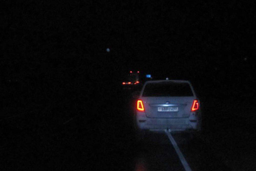 Около половины двенадцатого часа ночи на 303-м километре федеральной автодороги Тюмень – Омск в Ишимском районе автомобиль «Лифан» сбил пешехода