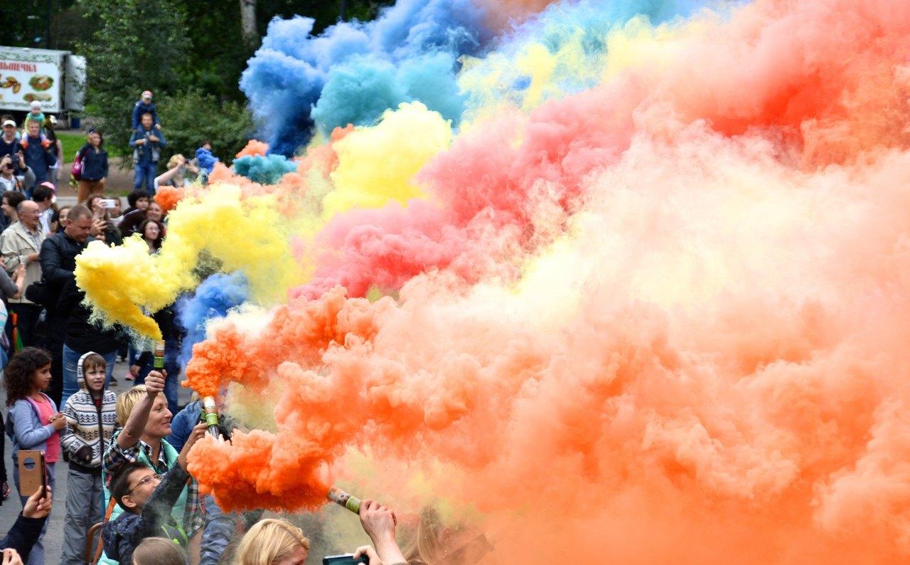 Фестиваль цветного дыма 1