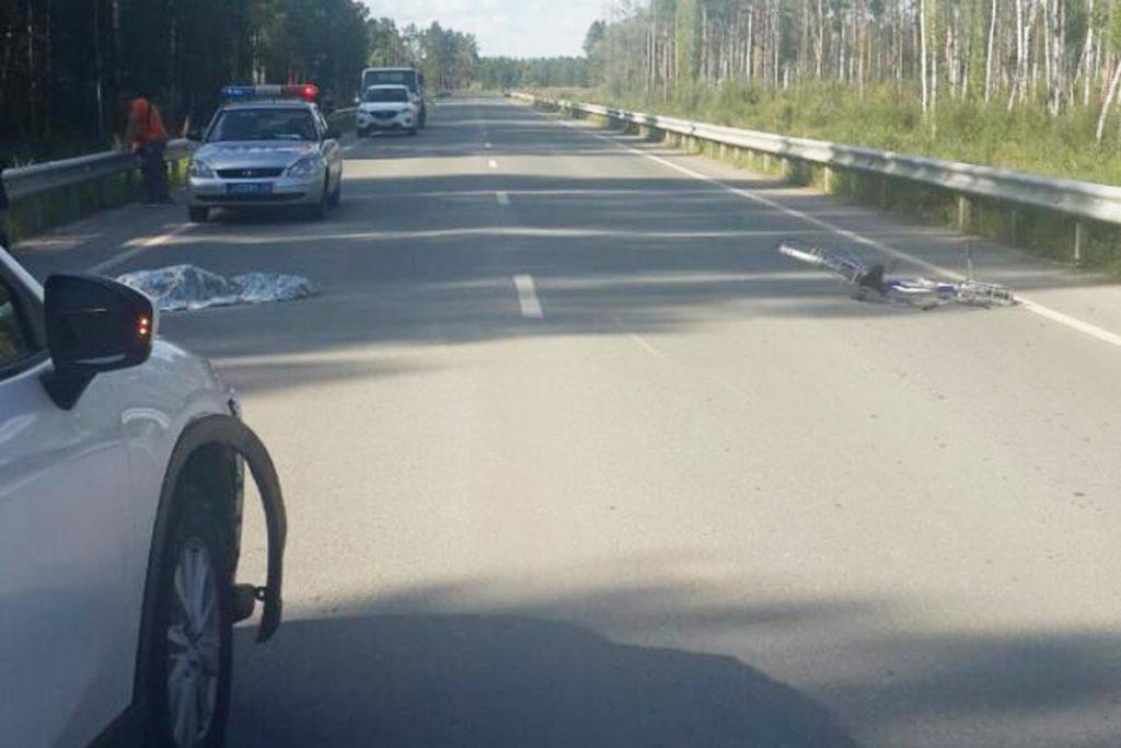 Около трех часов дня на 88-м километре автодороги Нижняя Тавда – Междуреченск в Нижнетавдинском районе автомобилем «Мазда СХ-5» сбит 66-летний велосипедист