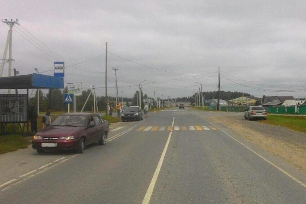 В половине одиннадцатого часа утра на улице Сакко в селе Нижняя Тавда столкнулись автомобиль «Мицубиси» и мотоцикл «Ямаха»