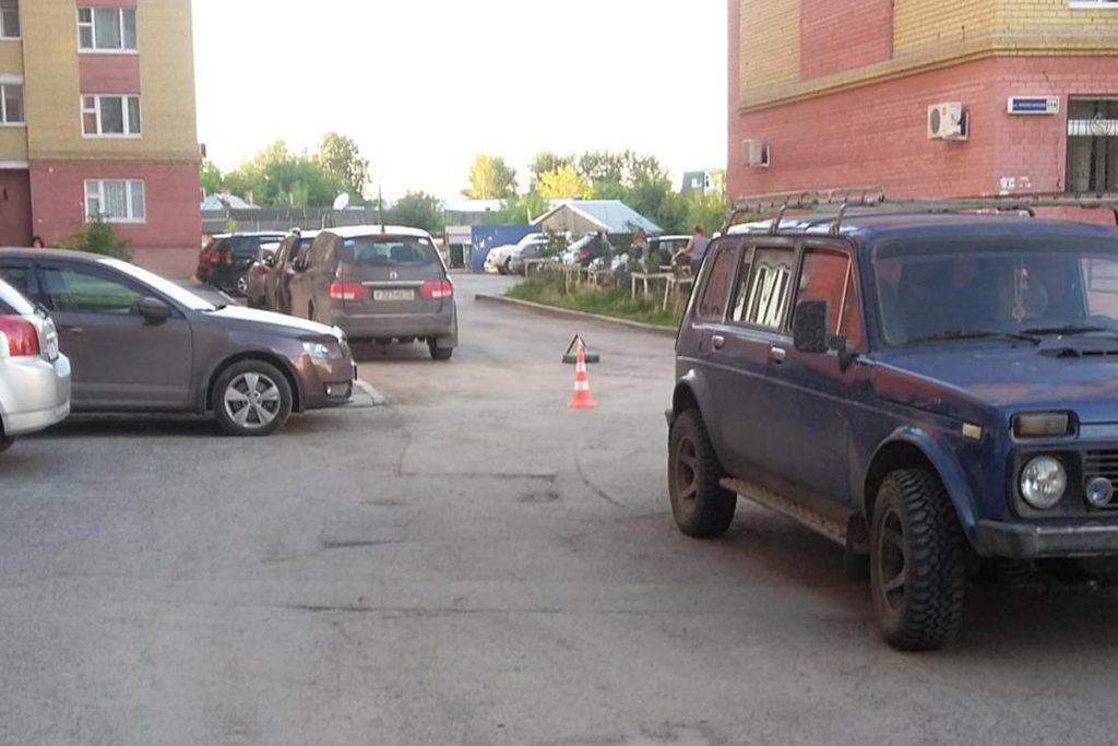 Еще один ребенок сбит автомобилем «Нива» в областном центре на улице Пролетарской