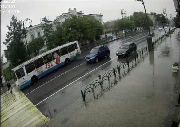 Автобус сбил пенсионера напешеходном переходе вТюмени