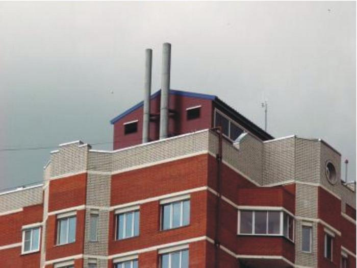 мини котельная для многоквартирного дома на крыше