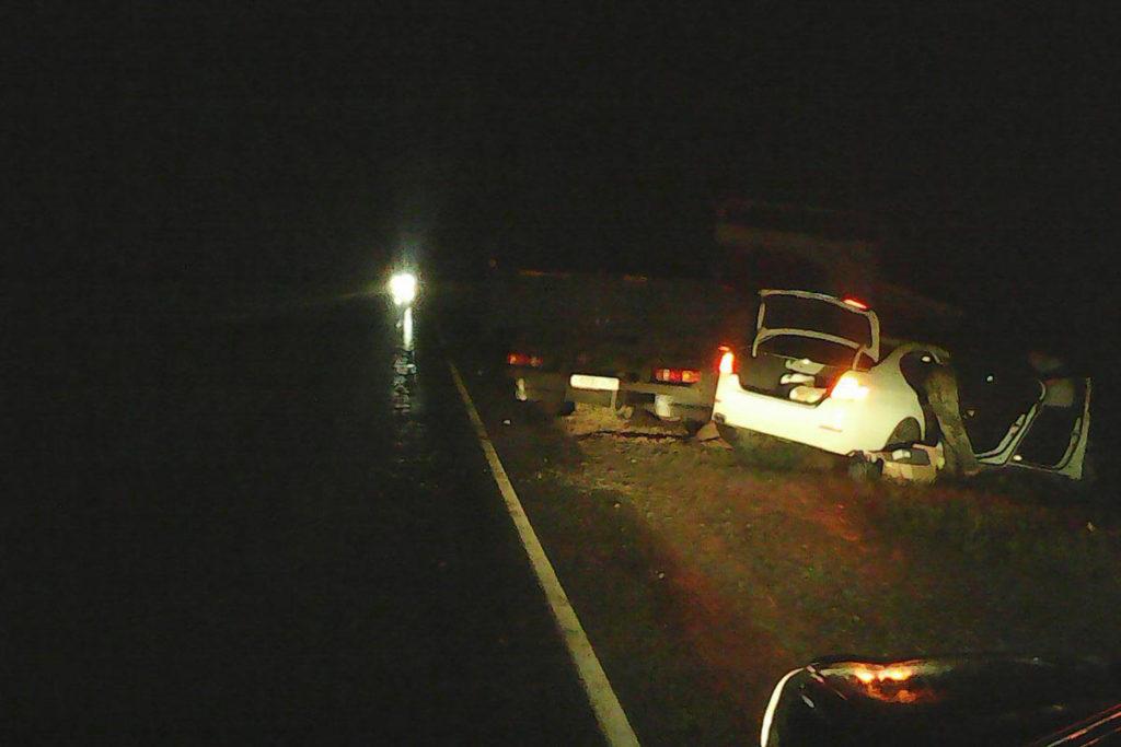 Трагедия произошла на автодороге Тюмень - Ханты - Мансийск в 1-ом часу ночи.  На 143 километре северной трассы столкнулись две иномарки