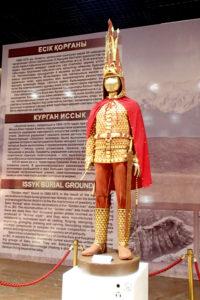 Национальный музей Казахстана. Экспозиция «Золотой человек»