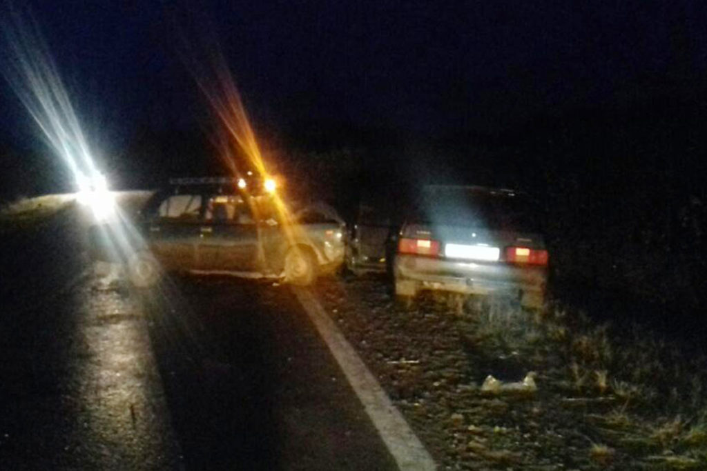 В Тобольском районе на 18-м км автодороги Тобольск – Байгора в 17 часов столкнулись автомобили ВАЗ 2107 и ВАЗ 2114