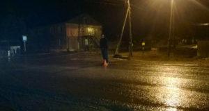 Еще один пешеход сбит автомобилем в темное время суток в поселке Туртас Уватского района