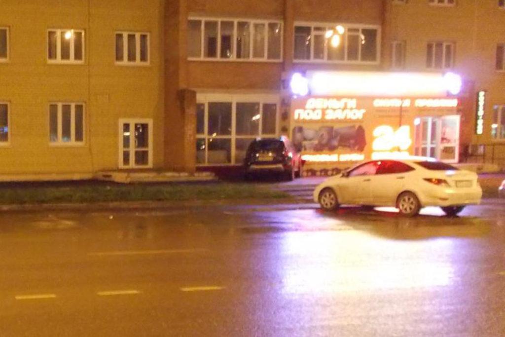 Около восьми часов вечера на проезде Заречный въехал в дом автомобиль «Рено Дастер»