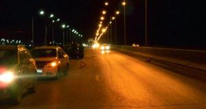 В семь часов вечера на улице Федюнинского областного центра  столкнулись автомобили «Шевроле» и «Лада Калина»