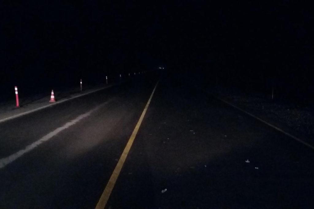 Трагедия случилась вчера около полуночи на 17-м километре автодороги Тюмень-Ханты-Мансийск под Тюменью