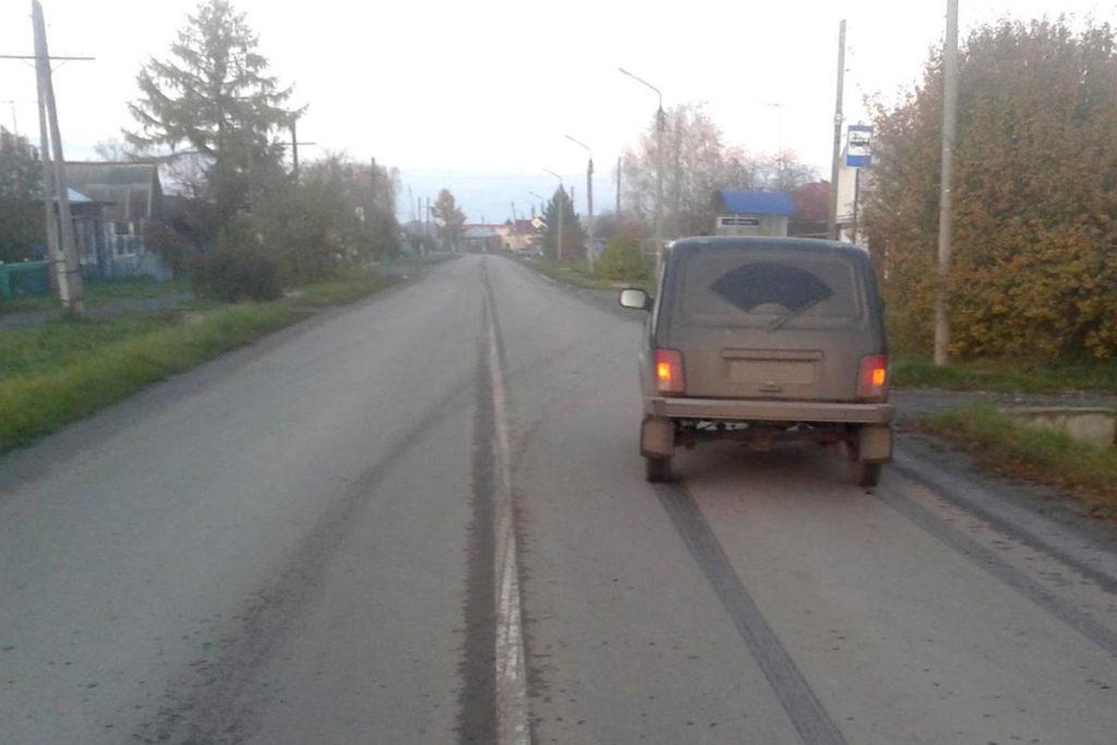 В Ялуторовске на улице Поселковой около 16-ти часов автомобиль «Нива» сбил 14-летнего пешехода