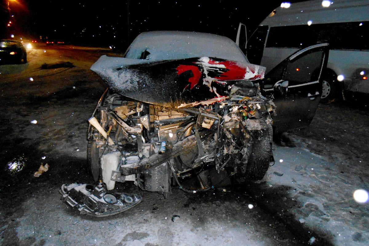 ВТюменской области разбилась насмерть 22-летняя автоледи