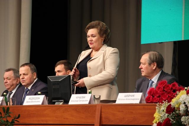 Ректор Тюменского медуниверситета Ирина Медведева