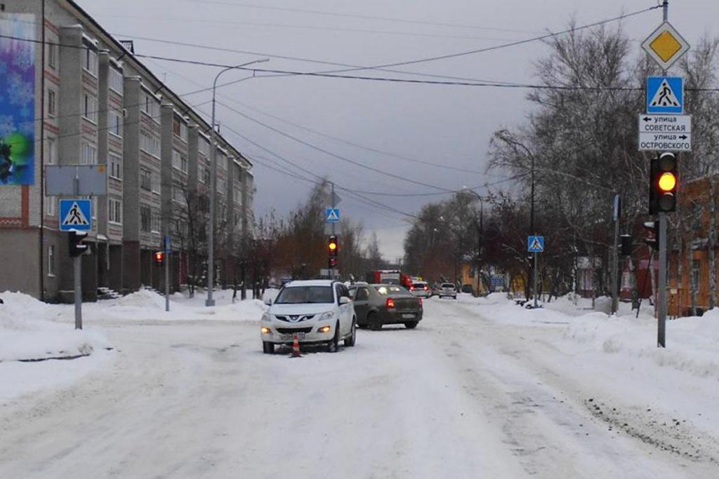 17-летняя девушка сбита автомобилем «Грейт Волл» на ул.Ленинградской в пос.Боровский
