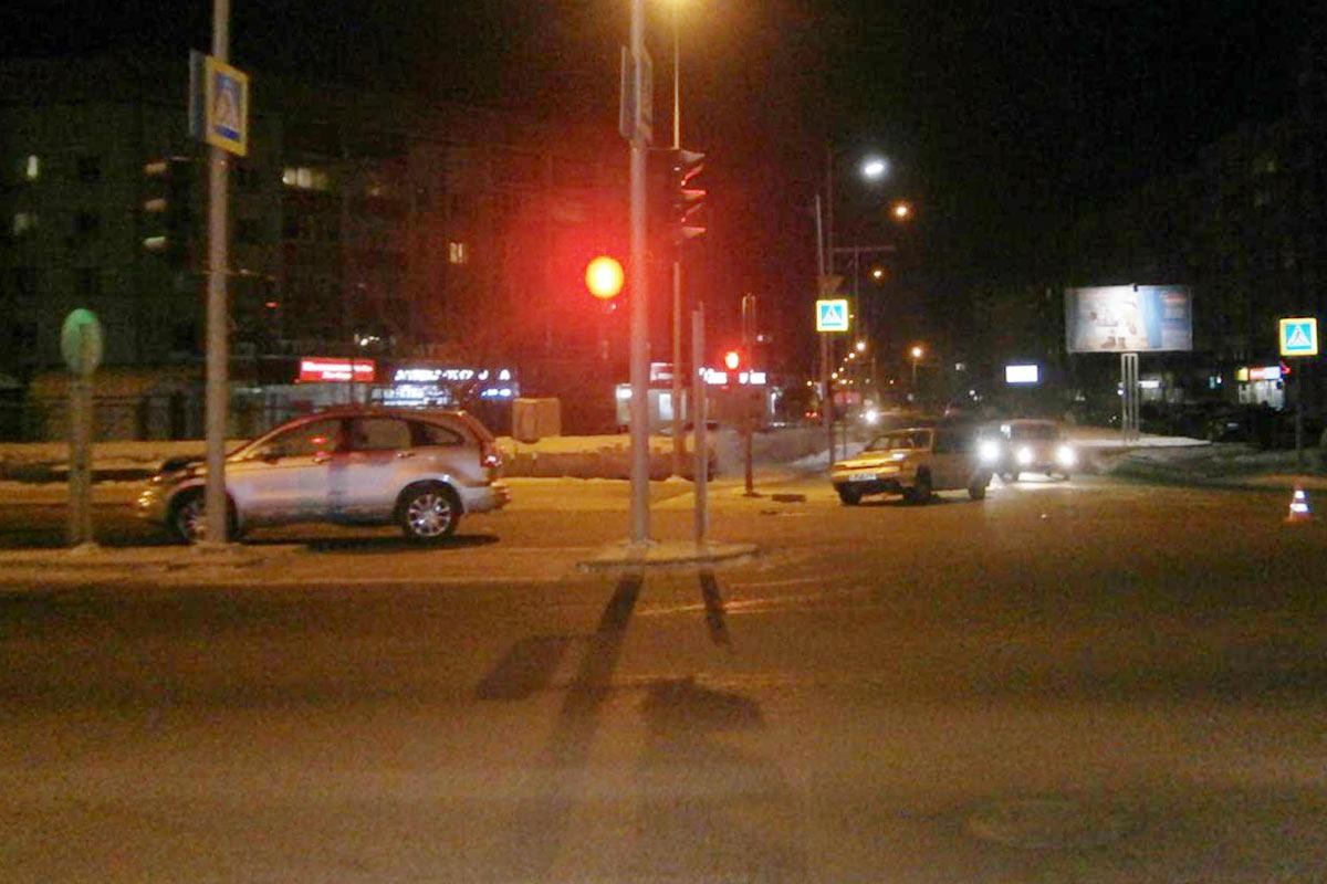 ВТюмени вДТП пострадали шесть человек