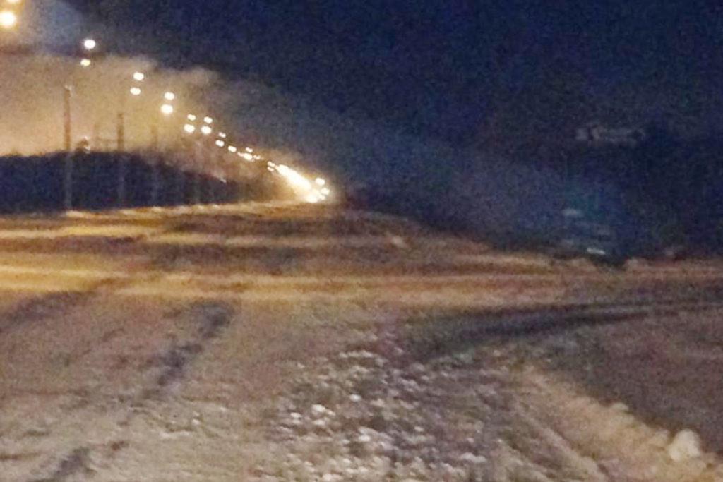 Около двух часов ночи на проезде Дзираева города Тобольска в электрощит въехал автомобиль «Лада» 9-й модели