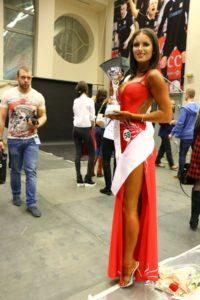 Вторая в номинации фитнес-модель Анастасия Цыбульская