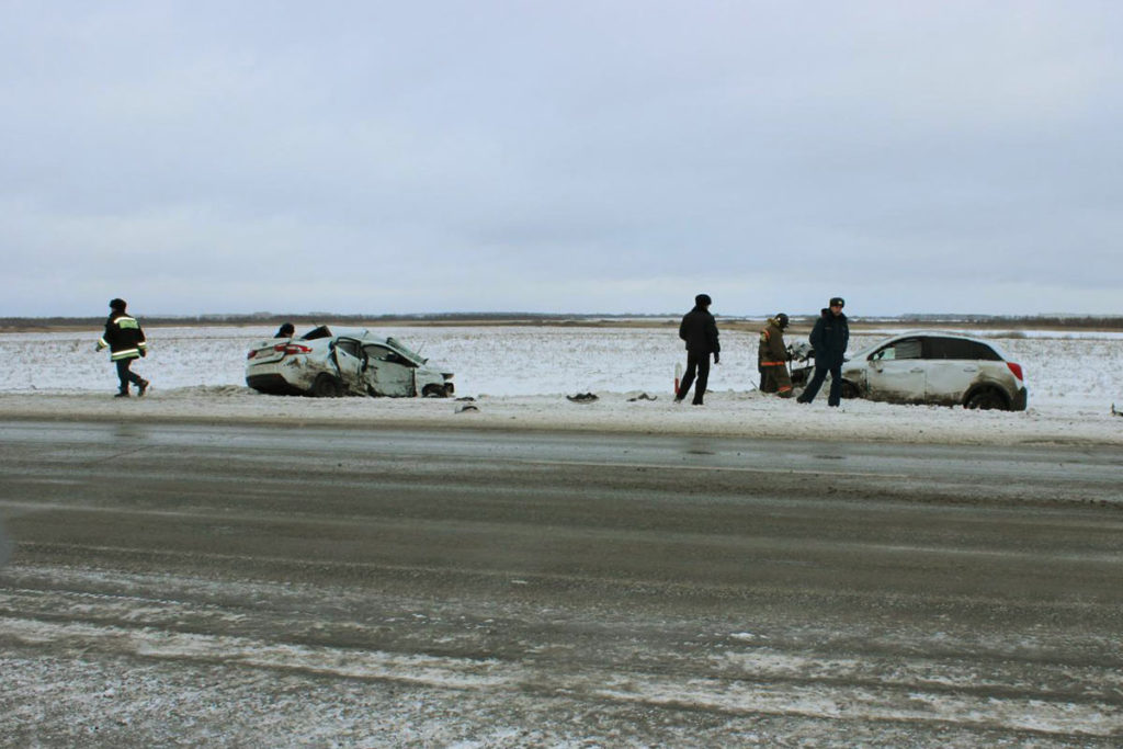 Трагедия произошла на 67-м километре Тюмень-Омск