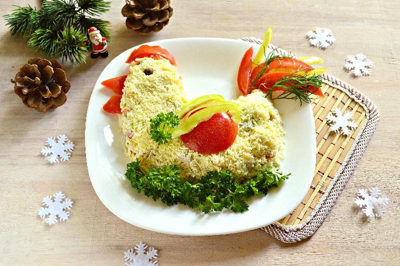 Новые салаты на новый год рецепты