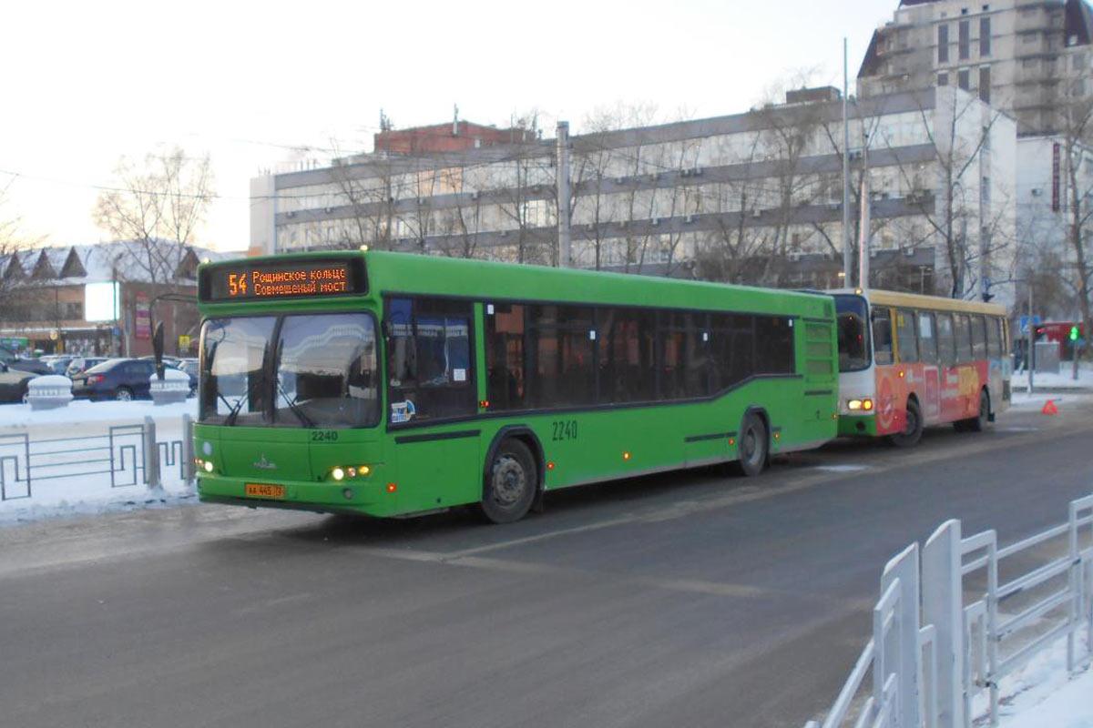 Встолкновении 2-х городских автобусов (маршруты №54 и №11) травмированы 5 человек