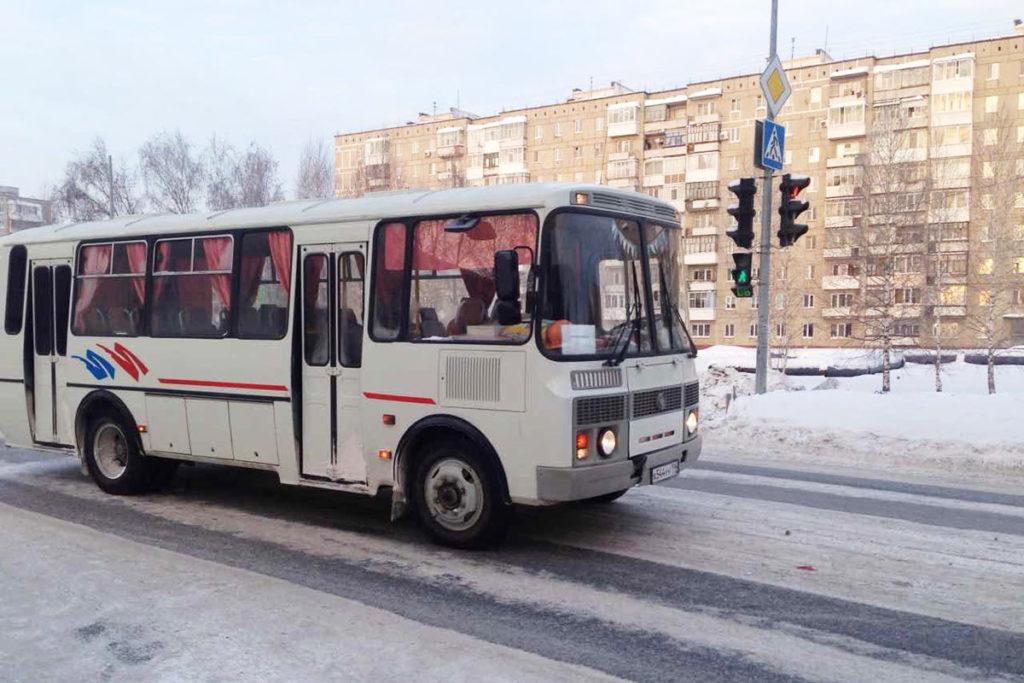 В начале десятого часа утра на регулируемом пешеходном переходе на улице Знаменского города Тобольска автобус «ПАЗ», принадлежащий одному из городских предприятий, сбил двух 17-летних девушек