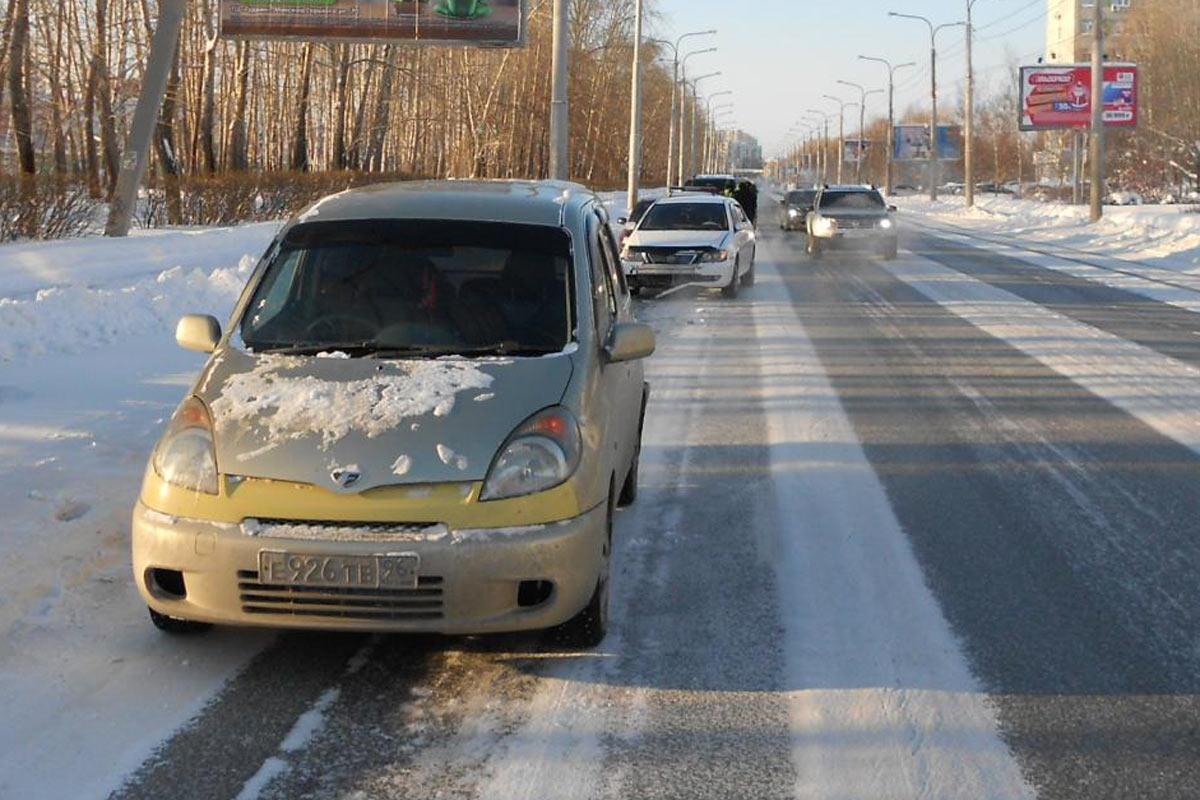 ВТюмени вДТП пострадала 27-летняя девушка