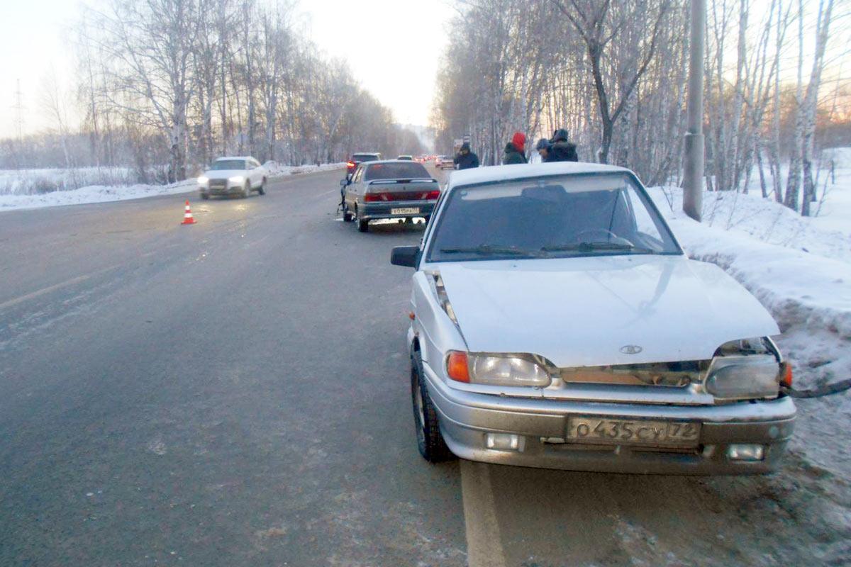 Засутки вТюменской области вДТП пострадали 10 человек