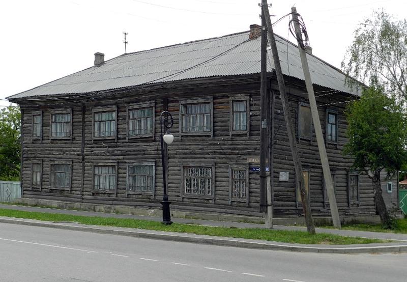 ВТобольске огонь поломал дом, где родился Александр Абдулов