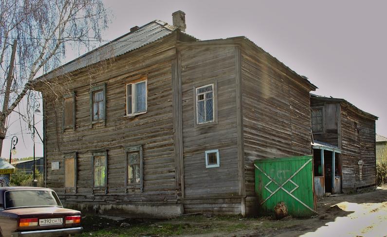 ВТобольске сгорел дом, вкотором родился артист Александр Абдулов