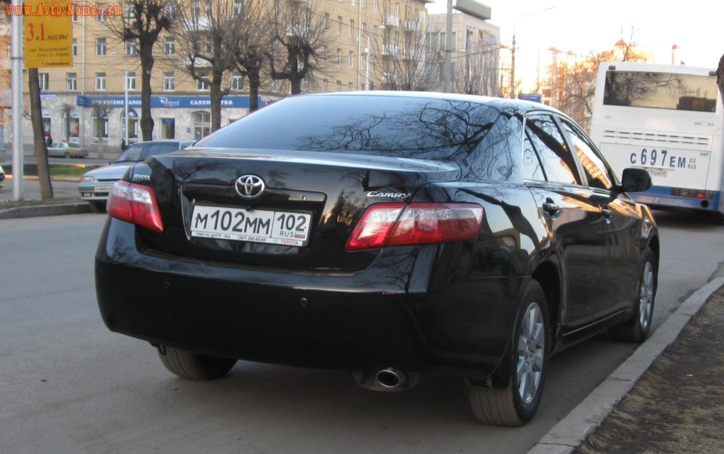 Тюменским обладателям автомобиля выдавали башкирские номера