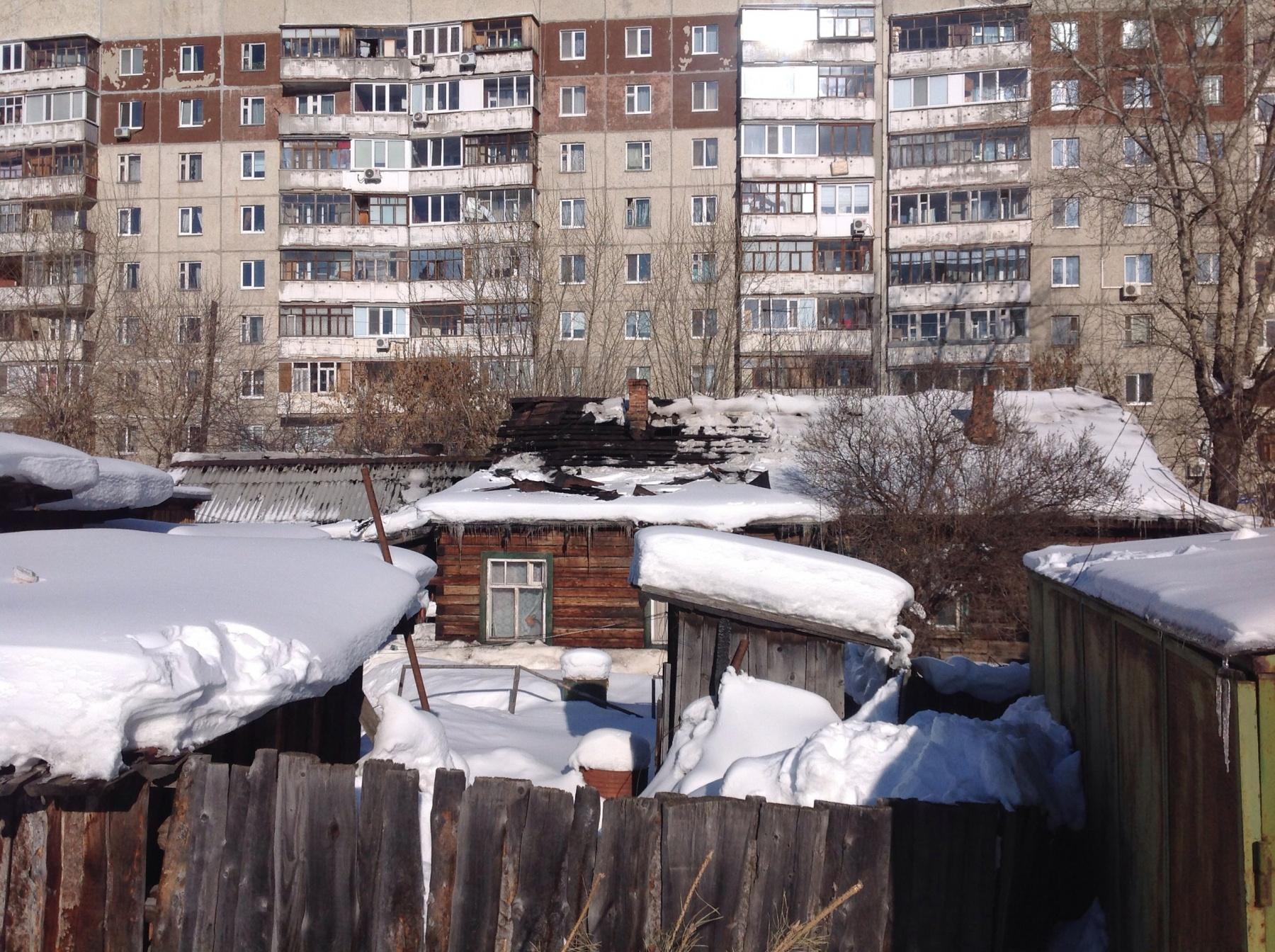 ВТюмени наулице Пархоменко произошел пожар в личном доме
