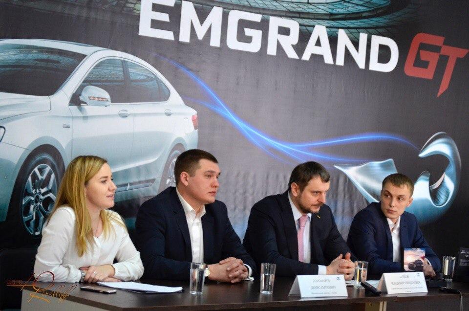 В Российской Федерации презентована флагманская модель Geely Emgrand GT