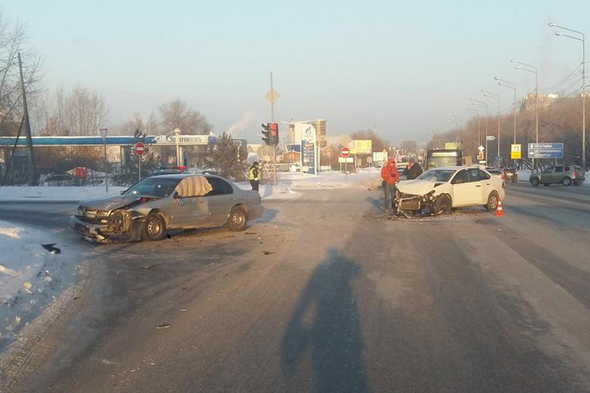ВТюмени дорожная милиция ищет водителя иномарки, сбившего пешехода