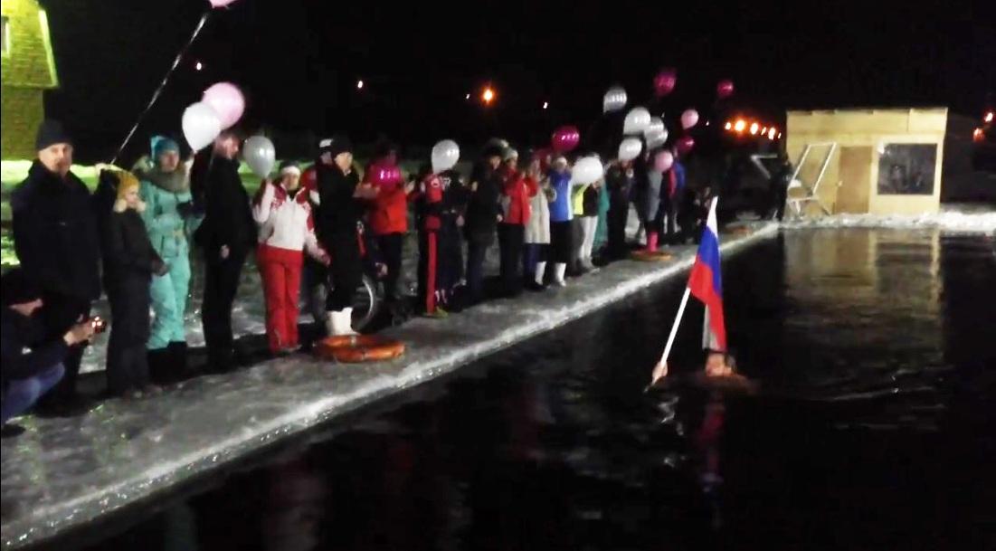 Тюменские моржи установили мировой рекорд скурьезом