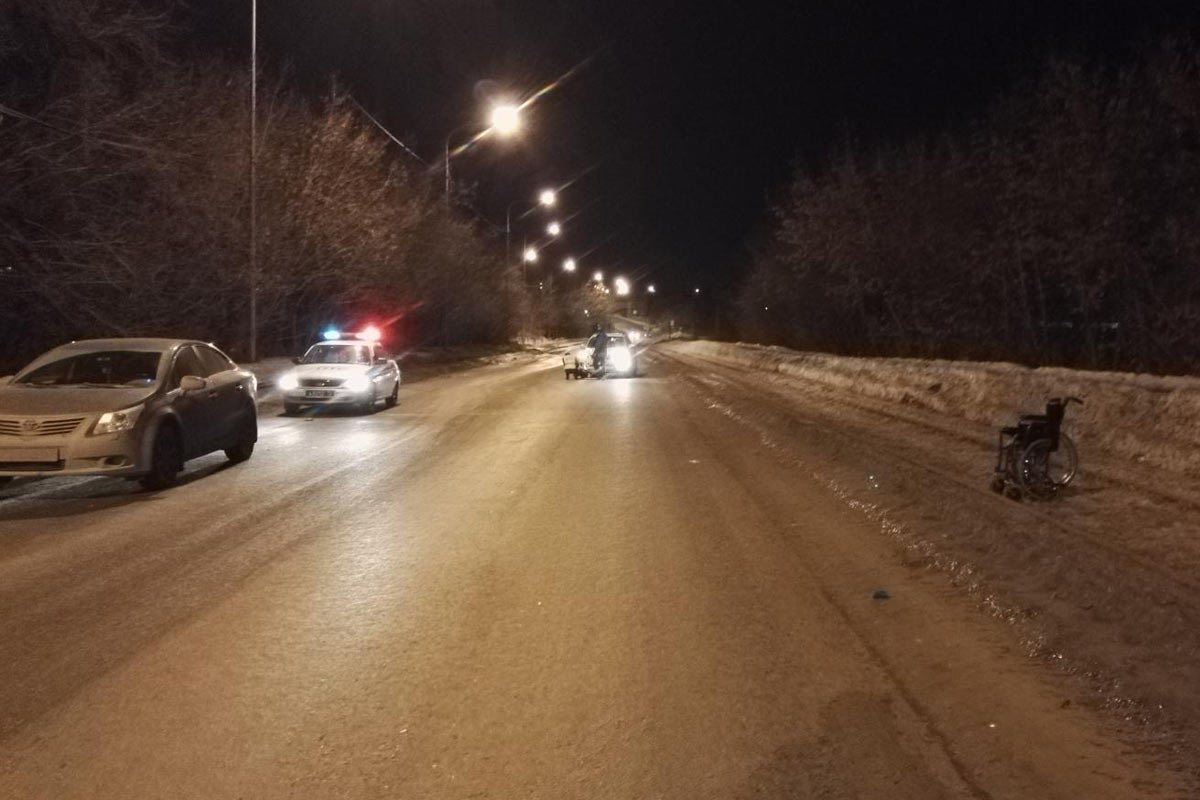 Засутки на трассах Тюменской области были сбиты 4 пешехода