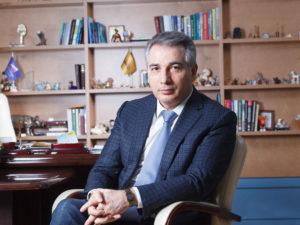 Эдуард Омаров, вице-президент всероссийской общественной организации малого и среднего предпринимательства «ОПОРА РОССИИ», председатель тюменского регионального отделения