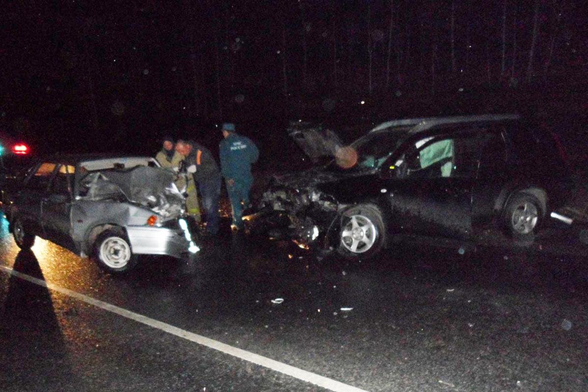 Натрассе Тюмень— Омск шофёр «Лады» заснул зарулем и умер