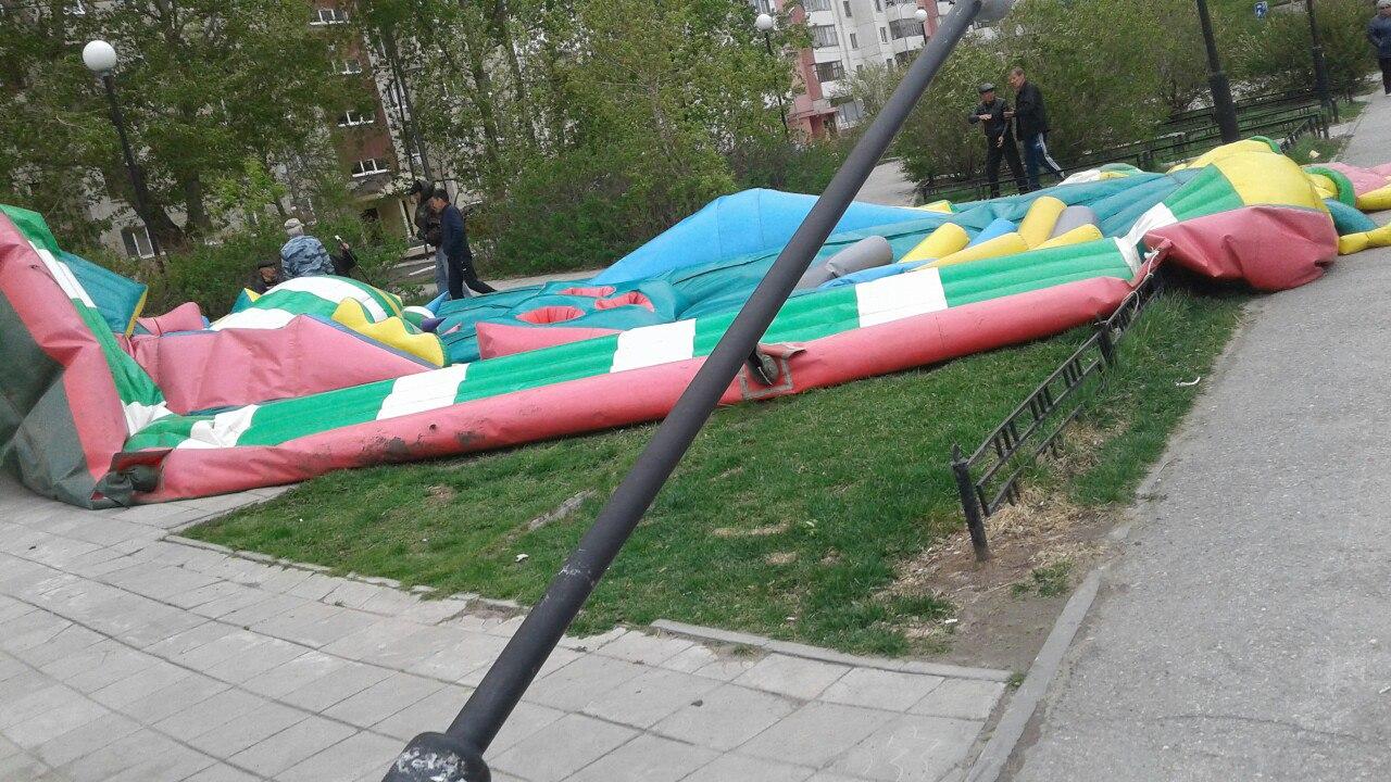 Генпрокуратура Тюменской области проверит батуты иаттракционы