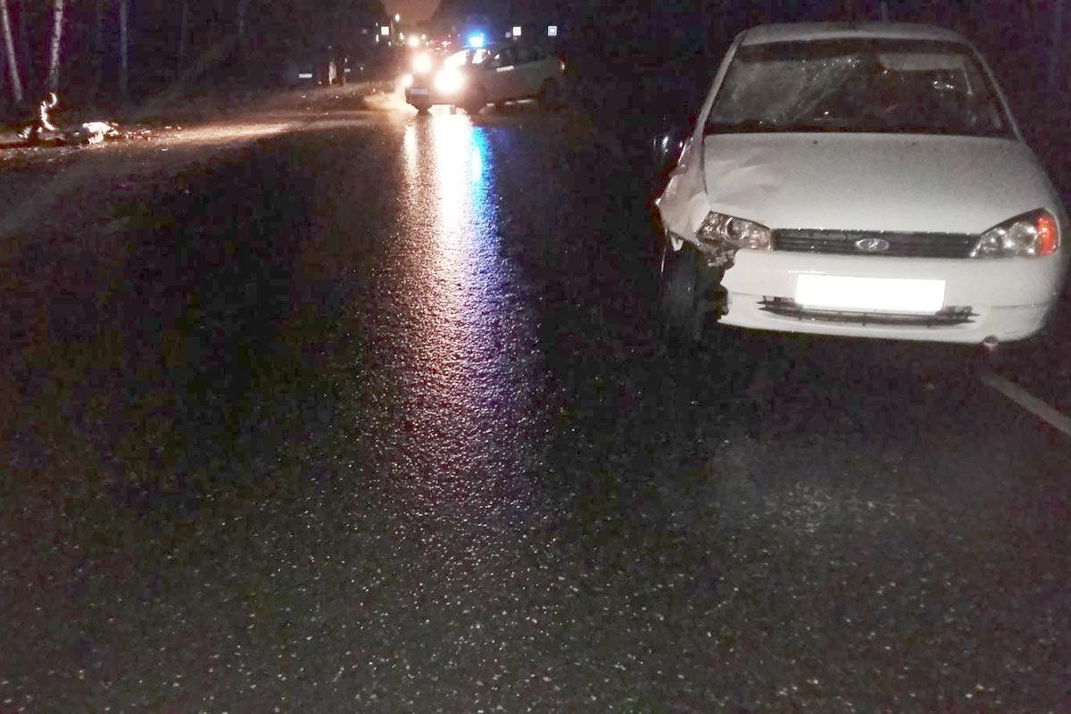 Под Тюменью автомобиль Лада насмерть сбил 45-летнего мужчину
