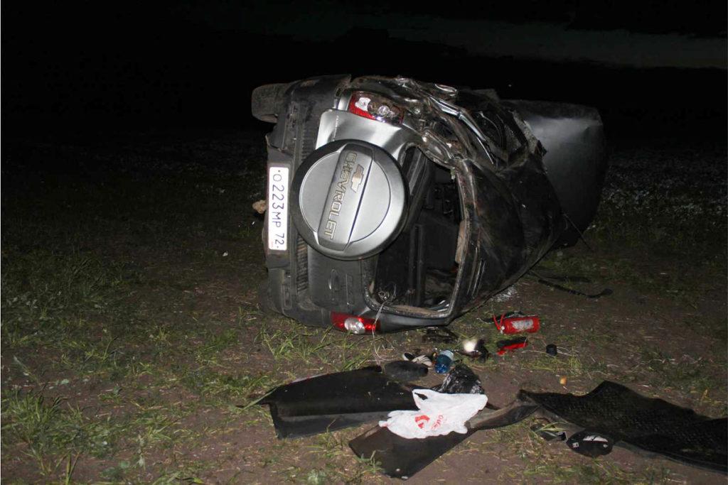 Трагедия  случилась в десятом часу вечера на грунтовой дороге в 3-х километрах от автодороги Голышманово-Бердюжье