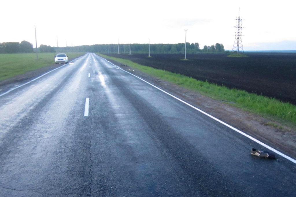 На 119-м километре дороги Шадринск – Ялуторовск в Исетском районе в четвертом часу утра в субботу неустановленным автомобилем сбит 27-летний пешеход