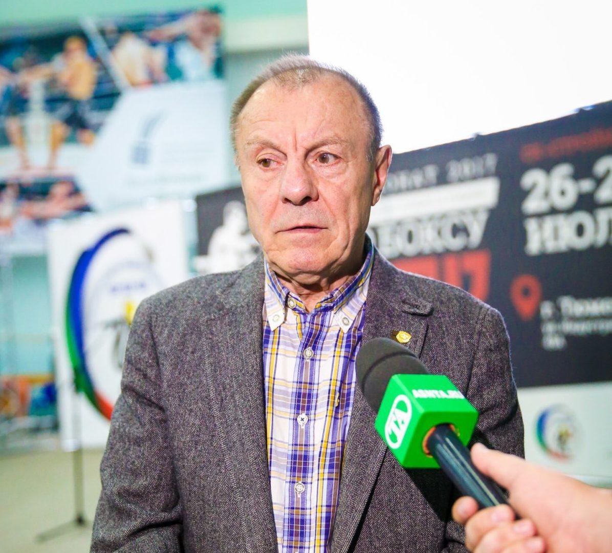 Легенда советского бокса, заслуженный тренер России Николай Хромов