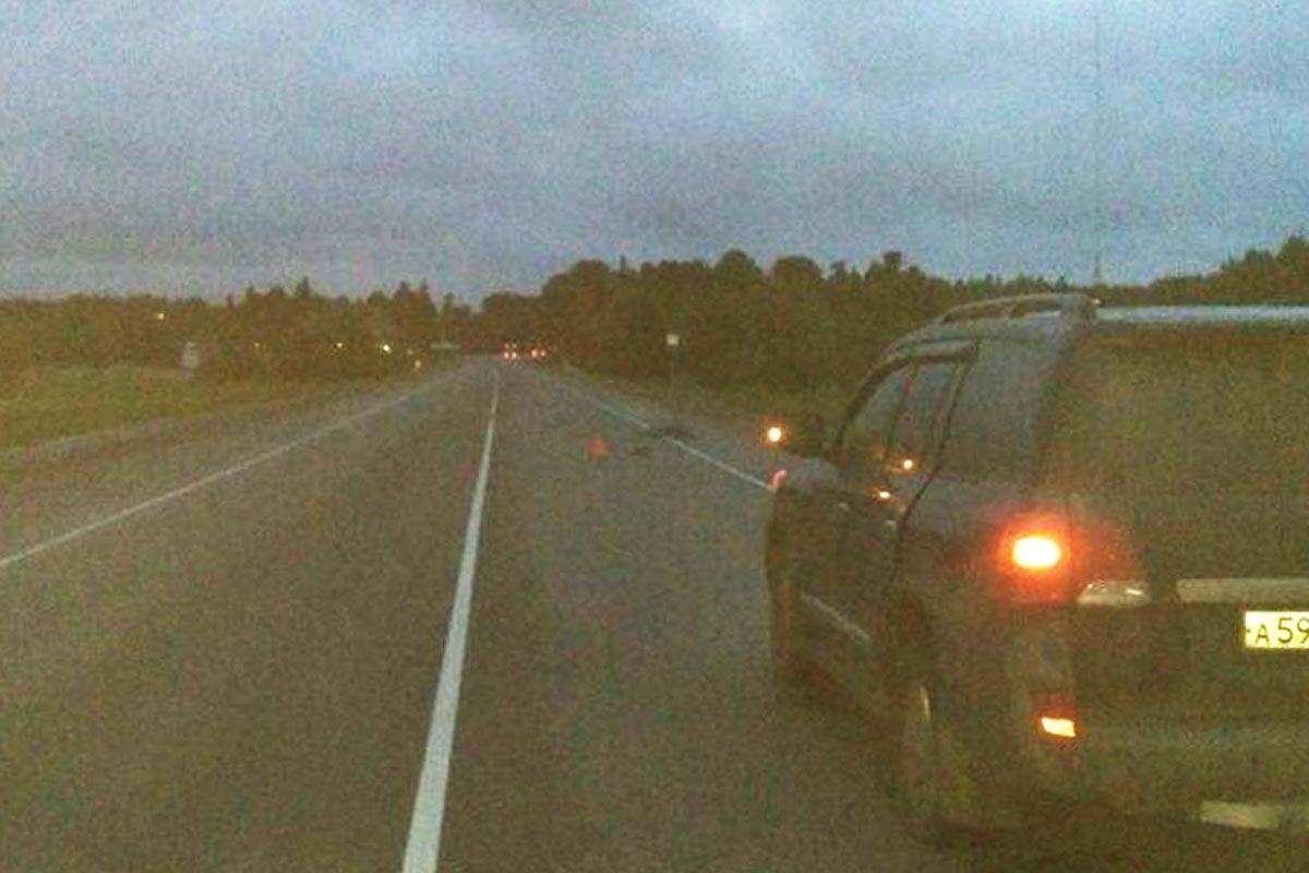 Ханты-Мансийск: вседорожный автомобиль задавил велосипедиста натрассе Тюмень