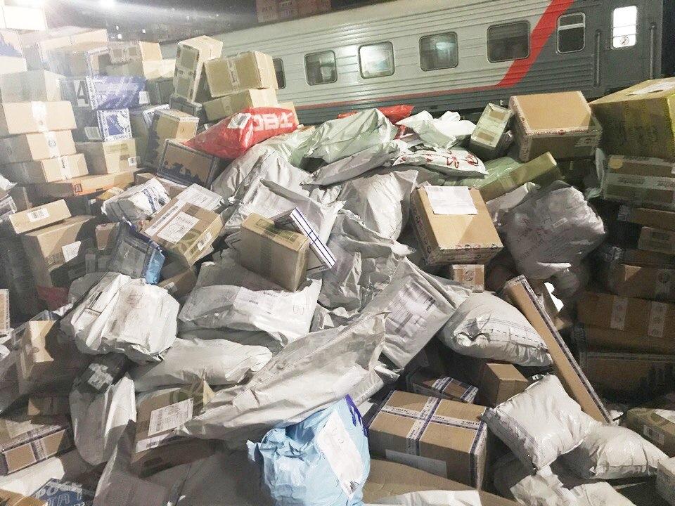Работа РЖД и«Почты России» повыгрузке посылок возмутила граждан Тюмени