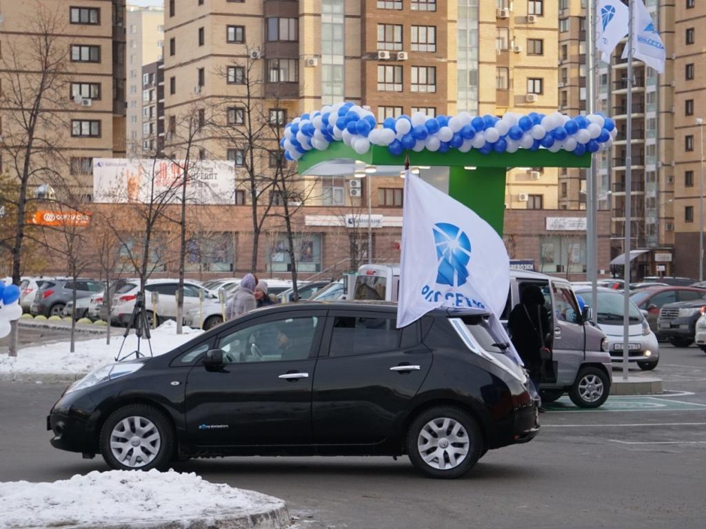 ВПерми открыли первую «заправку» для электромобилей