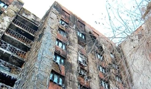 Конструкция выгоревшей вТюмени многоэтажки не разрушена — МЧС