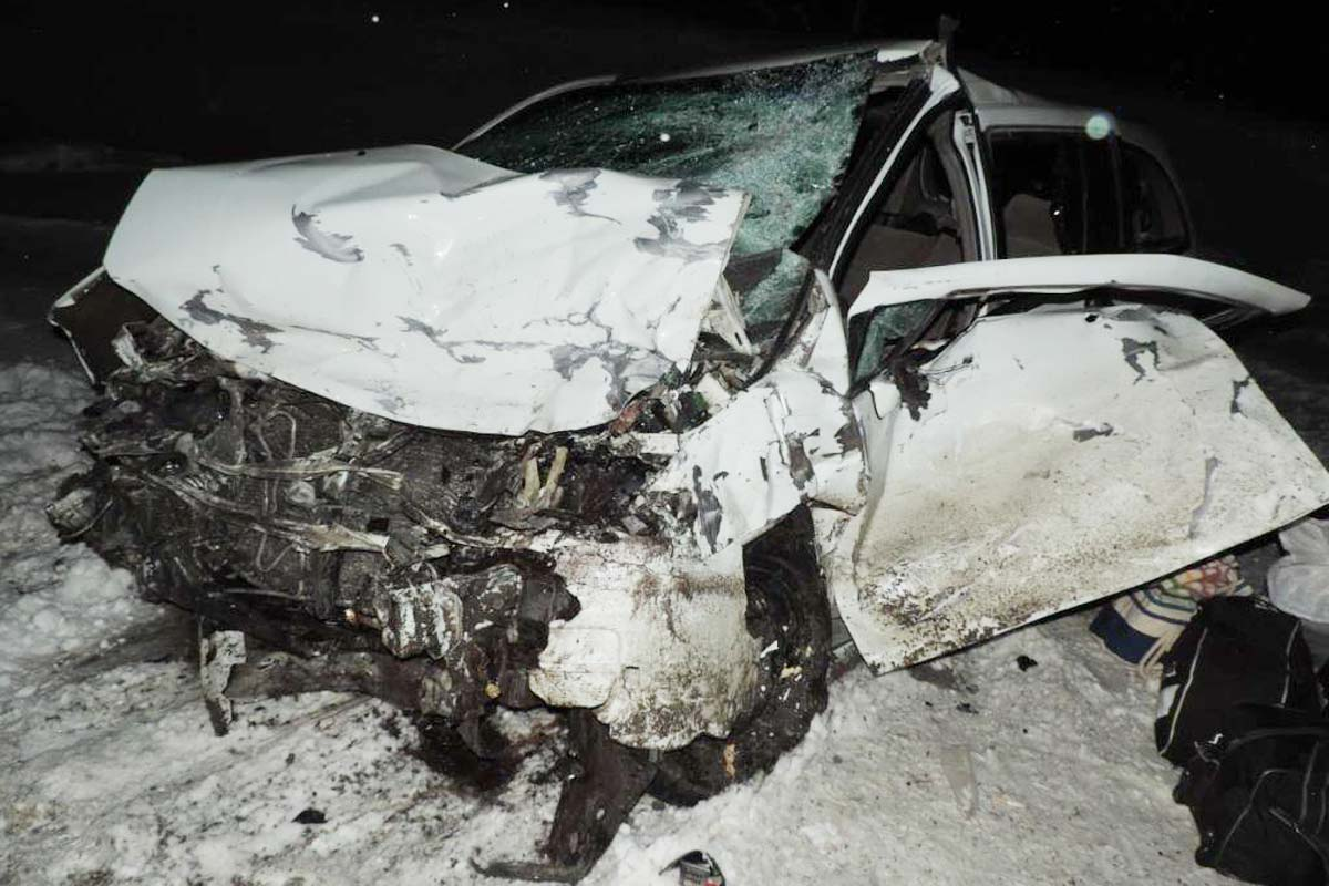 Один человек умер, шестеро травмированы встолкновении авто нафедеральной трассе